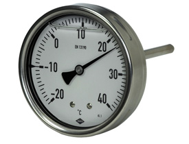 Thermometer INDUSTRIETHERMOMETER, Fig. 222/223